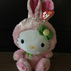 Hello Kitty Easter bunny plush